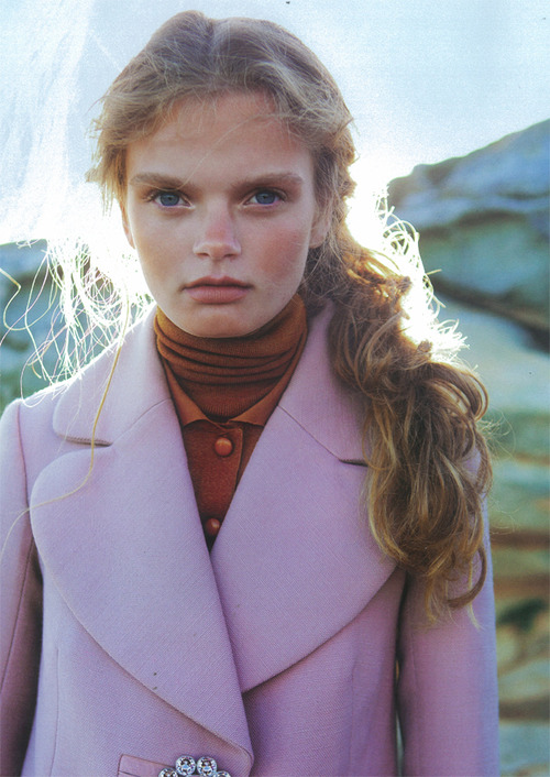 Marthe Wiggers photographed by David K. Shields for BLACK #18